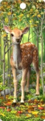 3D Bookmark - Fawn - For Books Kids Everyone