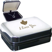 I Love You Heart Necklace Box