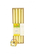 Beeswax (White) Dinner Candles In a box B34W