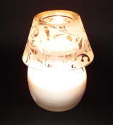 Vanilla & Lilly Aromatic Candle Lamp