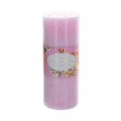 Bird and Flower Large Pillar Candle- Blossom and Mimosa