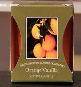 ORANGE VANILLA VOTIVE CANDLE 56 grms