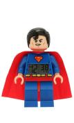 LEGO DC Universe Super Heroes Superman Minifigure Clock