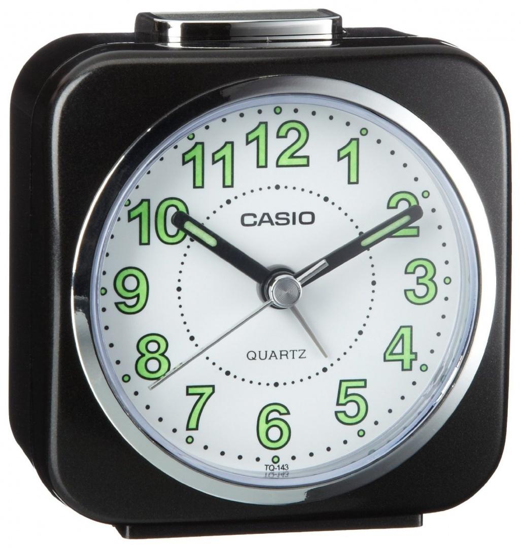 7743f1d6cca Casio Alarm Clock Tq-143-1Ef by Casio - Shop Online for Homeware in ...