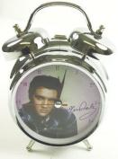 Elvis Blue Shirt 10cm Clock
