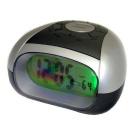 Talking LCD Digital Alarm Speaking Clock with Temperature