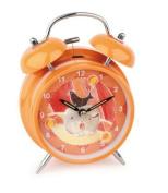 Alarm clock, orange, circus
