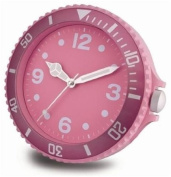 Pink Big Time Watch Face Wall Clock