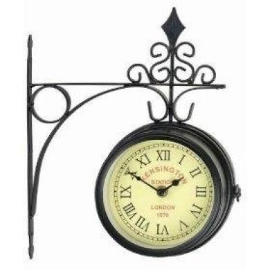 Gardman Kensington Station Clock   Outdoor Garden Clock