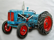 Fordson Major Tractor Clock - WT17