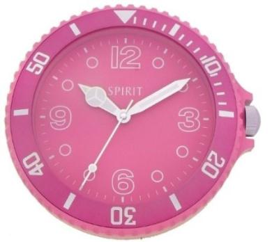 Funky Spirit Large Digits Pink Wall Clock