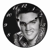 WALL CLOCK ELVIS PRESLEY SMILE ROUND KITCHEN CLOCK - Tinas Collection - The different design