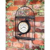 Birdcage Outdoor Wall clock