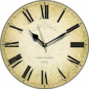 Paris Country Kitchen Wall Clock