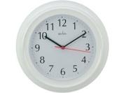 Acctim 21412 Wycombe Wall Clock White