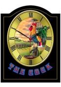 COCK Vintage English Pub Sign Wall Clock