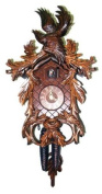 Cuckoo Clock Wood Grouse with young Birds