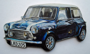 Mini Cooper Blue Key Rack - A39S