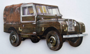 Land Rover Series 1 Key Rack - WT4S