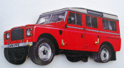Land Rover Series 3 Key Rack - WT6S