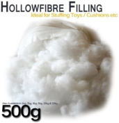 Hollowfibre Toy Stuffing / Filling for cushions, pillows, toys etc - 500g