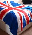Single Super Soft Classic Union Jack Fleece Throw/Blanket