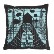 'My Home' Rob Ryan Cushion by Wild and Wolf