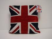 Union Jack Cushion Cover, Multi, 45 x 45