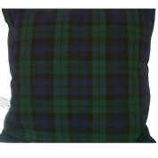 Blackwatch Navy & Green Tartan Cheque Cushion Cover