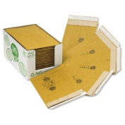 Jiffy Green Padded Bags with Kraft Outer and Recycled Paper Cushioning No.8 442x661mm Ref 01903 [Pack of 25]