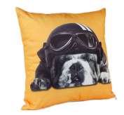 Captain Britain Dog Cushion Yellow