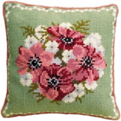 Brigantia Needlework Dalby Tapestry Cushion Front Kit in Quick Cross Stitch, Multi-Coloured