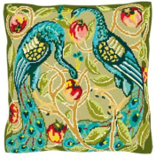 Brigantia Needlework Dauphin Tapestry Cushion Front Kit in Tent Stitch, Multi-Coloured