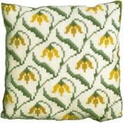 Brigantia Needlework Woodstock Tapestry Cushion Front Kit in Quick Cross Stitch, Multi-Coloured