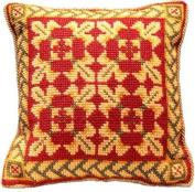 Brigantia Needlework Shilton Tapestry Cushion Front Kit in Quick Cross Stitch, Multi-Coloured