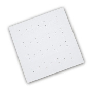 Shower Mats Anti-Bacterial Rubber Shower in White