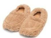 Mircrowaveable Furry Warmers Slippers - Beige