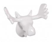 Zoo Moose Coat Hook, White