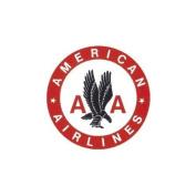 American Airlines Porcelain Fridge Magnet