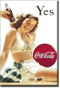 Coca Cola Yes (White Swimsuit) fridge magnet