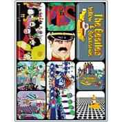 Beatles Yellow Submarine mini magnet set