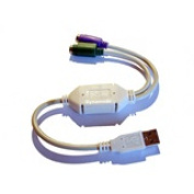 USB to PS/2 Keyboard and Mouse Adapter