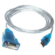 USB 1.1 to Serial RS-232 Converter Cable