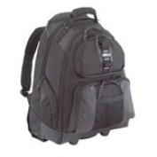 """Sport 15-15.6"""" Rolling Laptop Backpack - Black"""