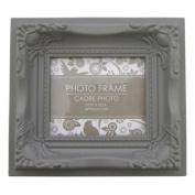 Ornate Magnetic Photo Frame Neutral Dark Tonal Colour Ornate Style