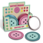 Buttons Pocket Vanity Mirror - Mad Beauty