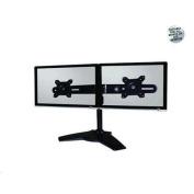 Aavara TS742 Dual LCD Stand with Tilt, Swivel, Rotation, 100x100mm VESA