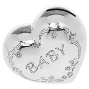 Baby Heart Shaped Money Box