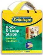 Sticky Hook and Loop Strip