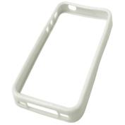 Sandberg Soft frame White iPhone 4
